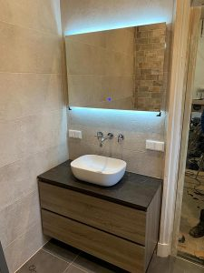 badkamer renovatie bouwbedrijf Wageningen